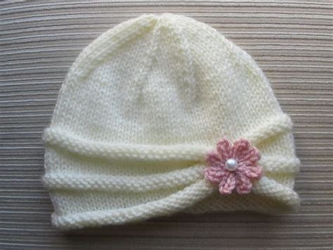 how to knit flower for baby hat best 25 knitting patterns ideas on