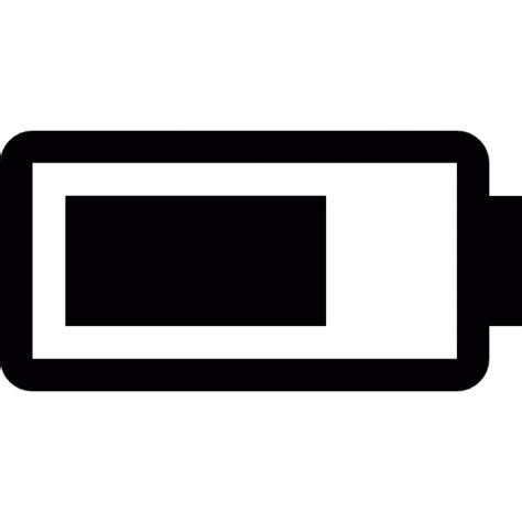 Original Garskin Iphone 6 Transparent Battery power in a battery icons free
