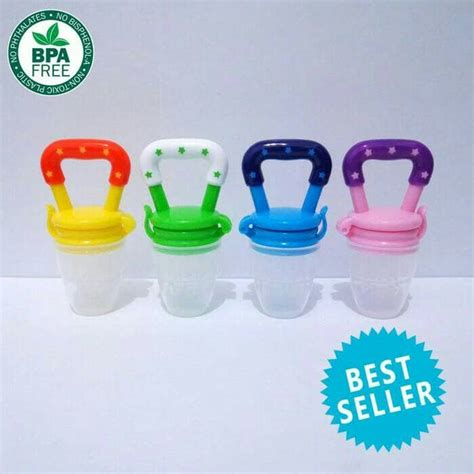 Empeng Baby by Baby Fruit Pacifier Baby Food Feeder Empeng Buah Baby