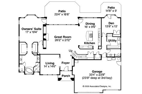 Mediterranean Style Floor Plans Mediterranean House Plans Corsica 30 443 Associated