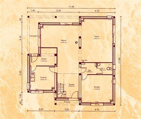 Plan Maison Carrée 4378 by Mod 232 Le Et Plans Bd Carraque Du Constructeur Belles Demeures