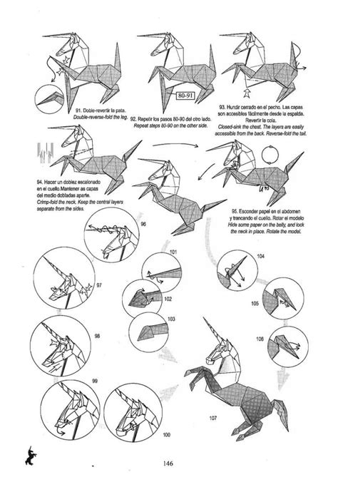 Origami Wolf Diagram - 7 best images of origami wolf diagrams