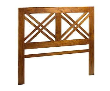 Madevran Syari cabecero en madera de mindi 165x140 cm proyecto cabecero cama