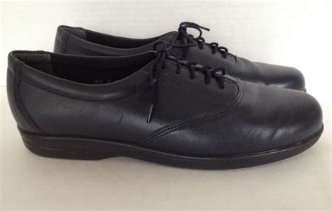 sas shoes for sas shoes womens size 7 5 narrow lace up made in usa blue
