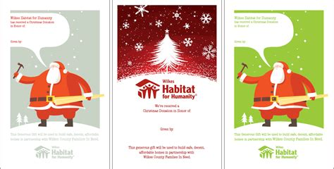 Habitat Gift Card - wilkes habitat for humanity 183 christmas gifts that change lives