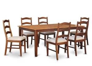 Dining Room Set With Upholstered Chairs 5pc Rectangular Dinette Dining Room Set Table 4 Microfiber Upholstered Chairs Ebay