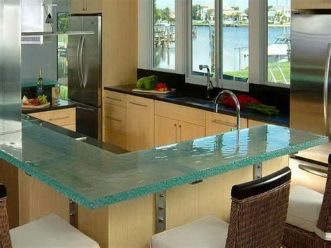 Unique Kitchen Countertop Ideas 30 Unique Kitchen Countertops Of Different Materials Digsdigs