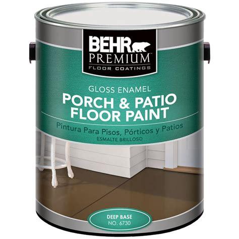 behr premium  gal deep base gloss enamel exterior porch