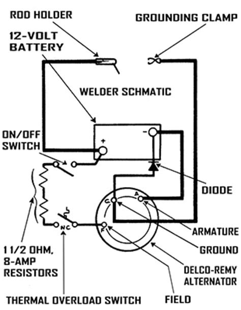 build a portable dc arc welder for 20 do it yourself earth news