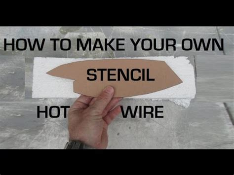 Create Your Own Custom Stencil - how to make your own wire stencil