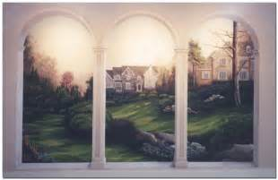 http www trompe l oeil art com images wyomissing arches wall mural signs by sequoia signs walnut creek