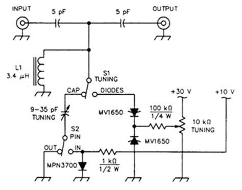 pin diode test imd test circuit for pin diodes measuring and test circuit circuit diagram seekic