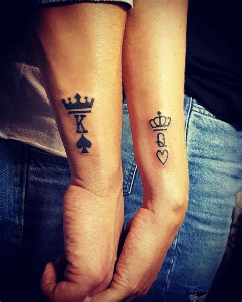 his n hers tattoo designs 1000 ideas about couples matching tattoos on