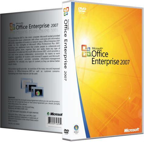 Microsoft Office Enterprise 2007 microsoft office 2007 sp3 enterprise visio pro project