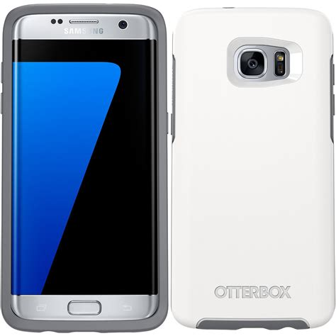 Otterbox Symmetry Series For Samsung Galaxy S7 Edge Glacier 77 53098 otterbox symmetry for samsung galaxy s7 edge white