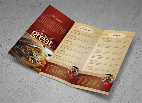 To Go Menu Template Free by 20 Take Out Menu Templates Free Sle Exle Format