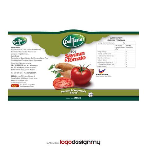 label design malaysia sos sayuran bottle label design malaysia online logo