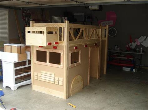 Firetruck Bunk Bed How To Build A Truck Bunk Bed Total Survival