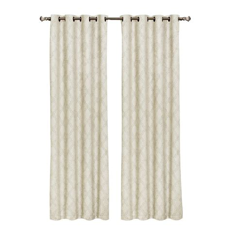 white curtain panels 84 window elements lattice cotton blend burnout sheer 84 in