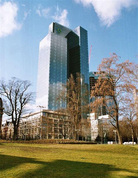 fusion dresdner bank commerzbank hochh 228 user der frankfurter skyline