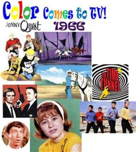when were colored tvs invented 1966 quaker oats ad quot oatmeal is cool quot