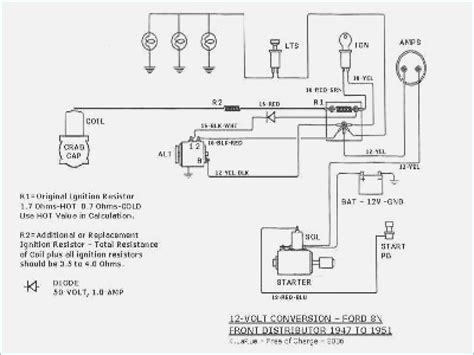 Ford 8n Wiring Diagram