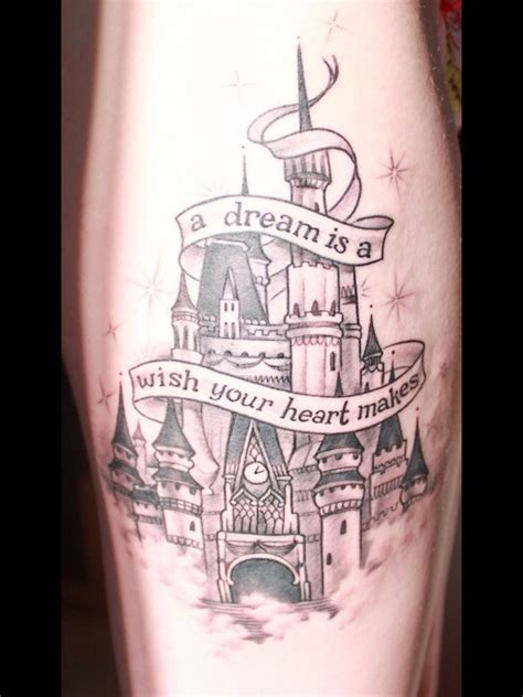 disney castle tattoo disney disney