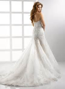 gorgeous wedding dresses gorgeous strapless lace wedding dress with corset sang maestro