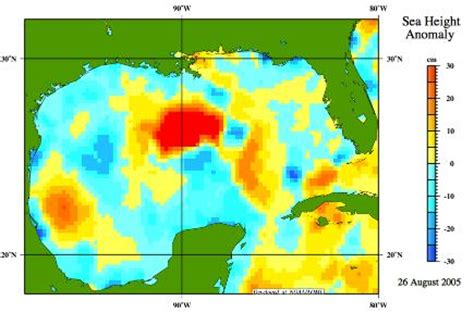 water temperature gulf of mexico 8c heat energy for katrina