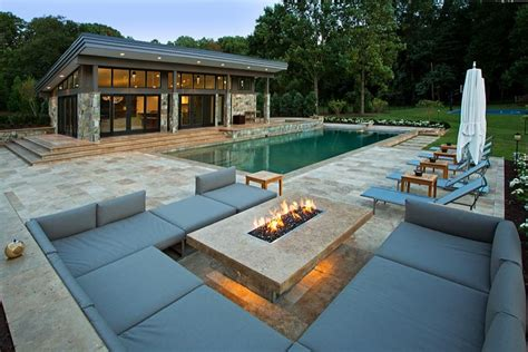 Patio Modern Design by 33 Pool Houses With Patio
