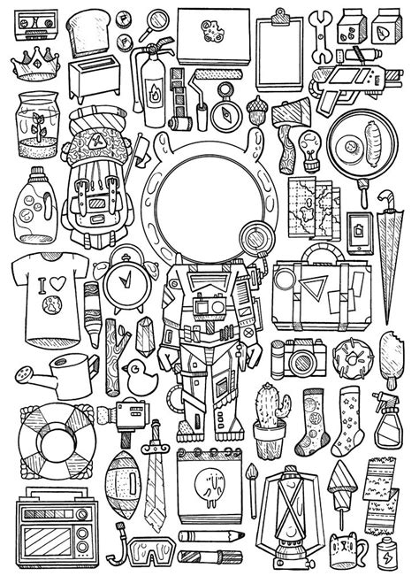 libro doodles in outer space 25 best doodle illustrations images on doodle illustrations doodles and doodle