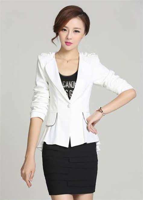 Special Baju Korea Dress Korea Import Chiffon 855 Terbaru blazer fashion jc677 white tamochi toko baju wanita