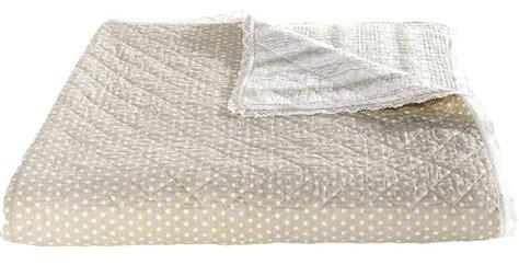 wohndecke baumwolle 1x wende tagesdecke 210 x 280 creme natur beige wohndecke