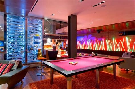 bowling alley with pool modern basement with bowling alley pool maybe add