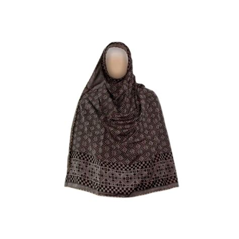 pattern hijab scarves shayla hijab scarf with pattern in gray oriental style