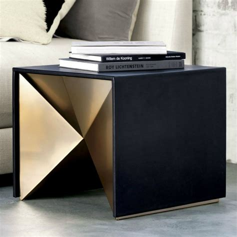 side table design black and gold side tables for luxury homes