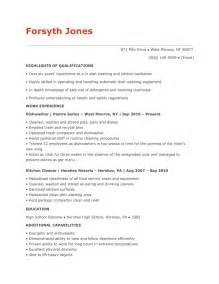 Dishwasher Resume Sample Make Your Dishwasher Resume Sparkle Raw Resume