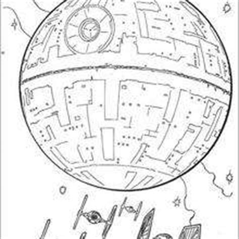death star and the fighters coloring pages hellokids com