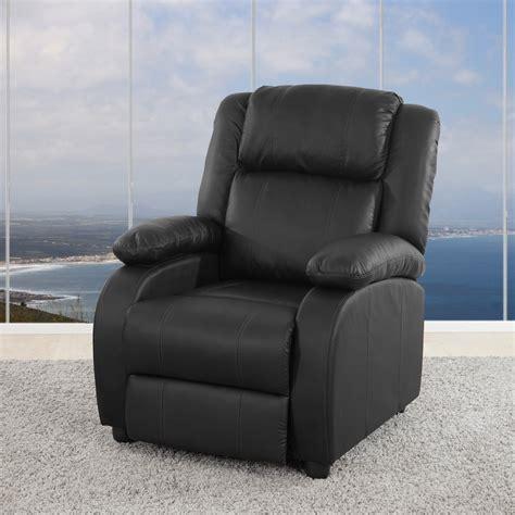 sillon reclinable negro sill 243 n relax reclinable lincon en color negro sillon