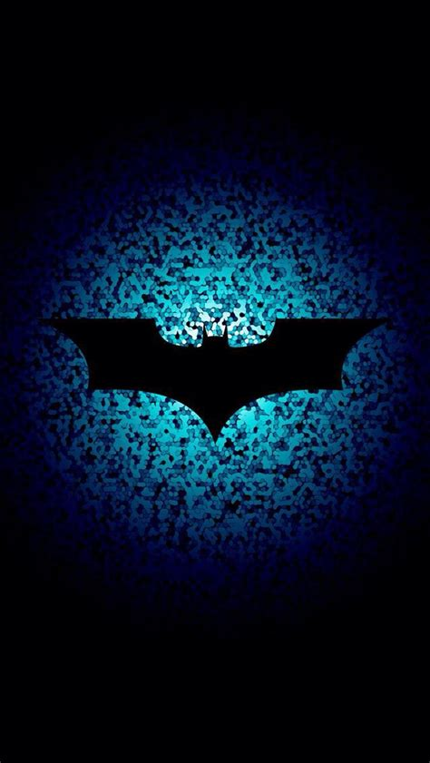 batman wallpaper blue bat symbol batman and joker pinterest bats and symbols
