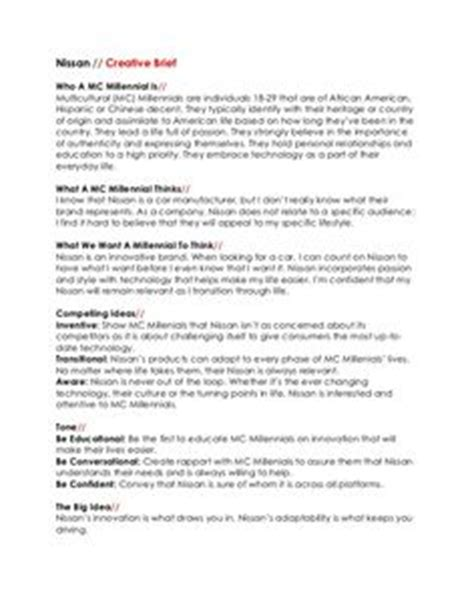 visual communication design brief template creative brief google search visual communication