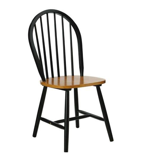 chaise 224 barreaux en bois noir mat et placage ch 234 ne