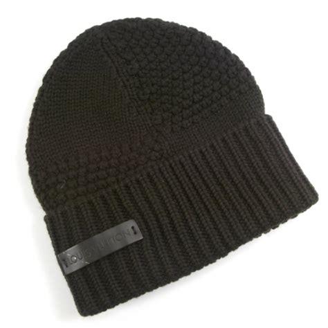 louis vuitton wool bonnet beanie hat brown 20442