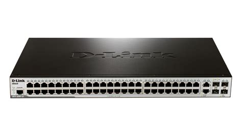 Switch Hub 48 Port Gigabit d link des 3200 52 48 port fast ethernet managed l2