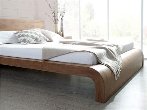 walnut bed roma natural walnut contemporary bed modern bedroom