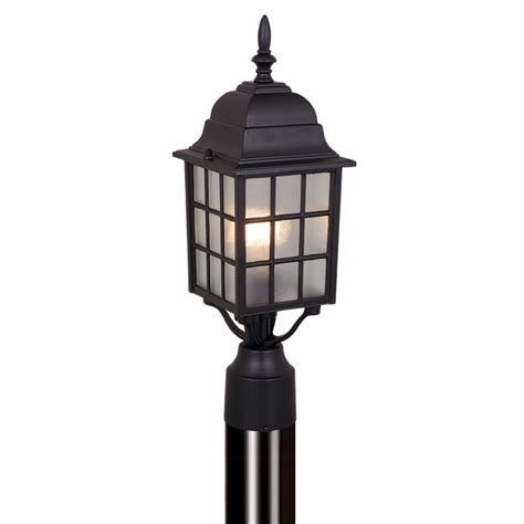 outdoor lighting poles mission view outdoor pole light textured black