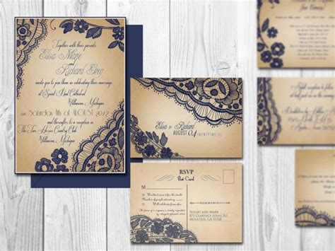 elegant wedding invitation printable printable lace elegant wedding invitations bellevue