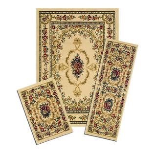 kmart area rug sets savonnerie 3 area rug set home home decor rugs area accent rugs