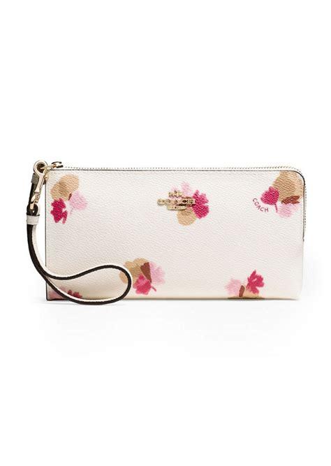 Coach Floral Zip Wallet coach coach floral print coated canvas zip wallet