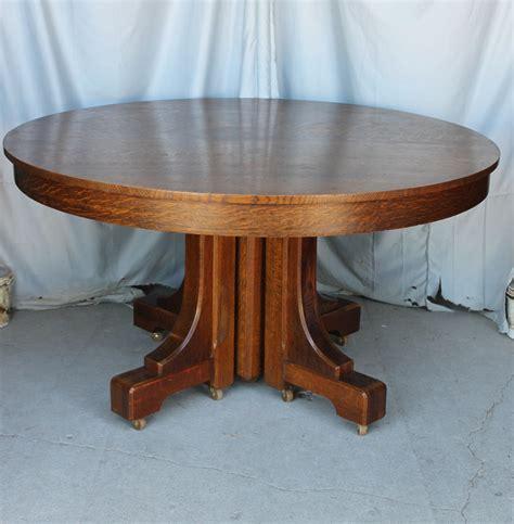 Bargain John S Antiques 187 Blog Archive Mission Style Round Antique Oak Dining Table